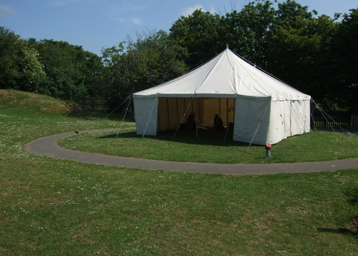 Marquee (23ft by 23ft) - £150.00 per day. & Marquee hire | West Coker Scout Group - East Somerset Scout District